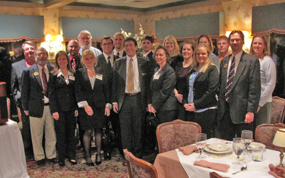 Shepherd University Students and Professors at the Eastern Panhandle Chapter visit