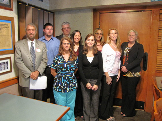 Students and Professors from Bluefield State visit the Southern Chapter